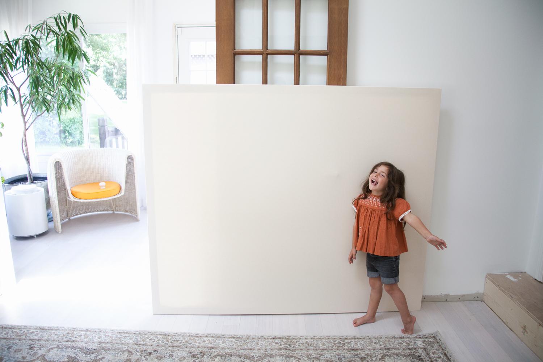 kids make abstract art