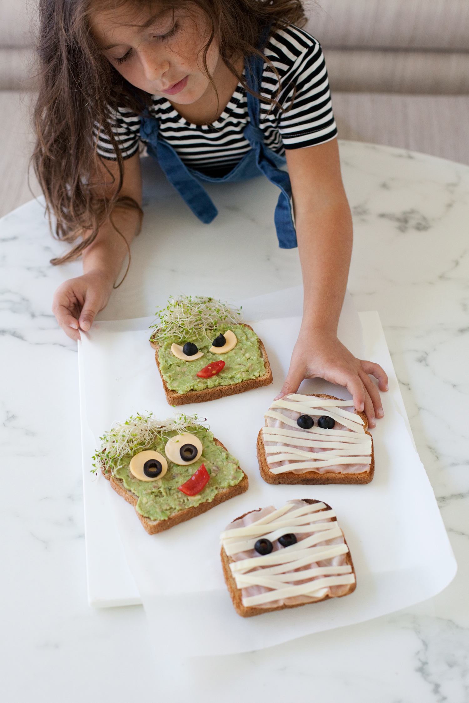 Monster and Mummy Toast