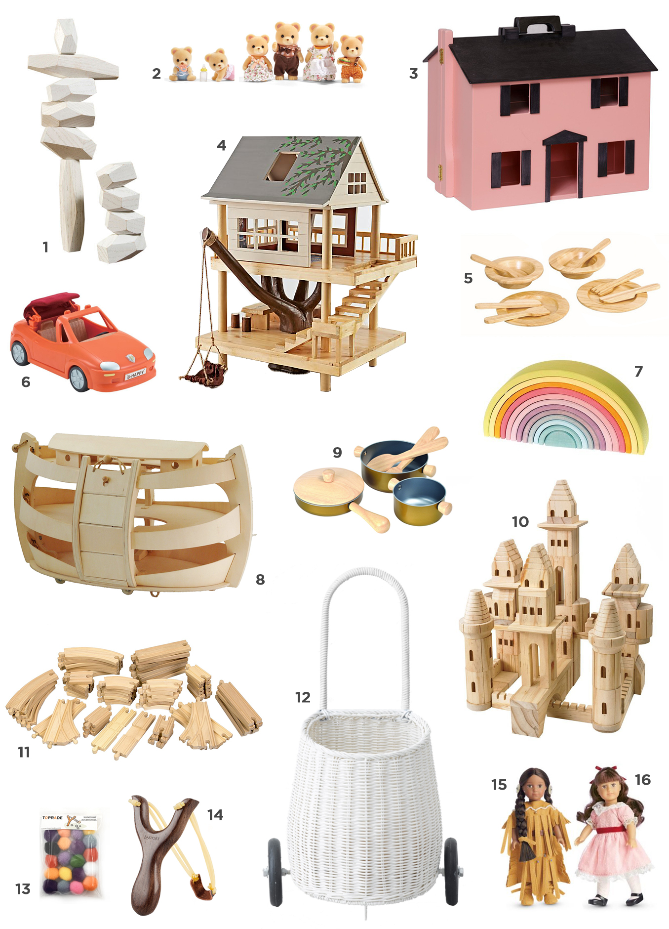 heirloom toy gift guide for preschoolers