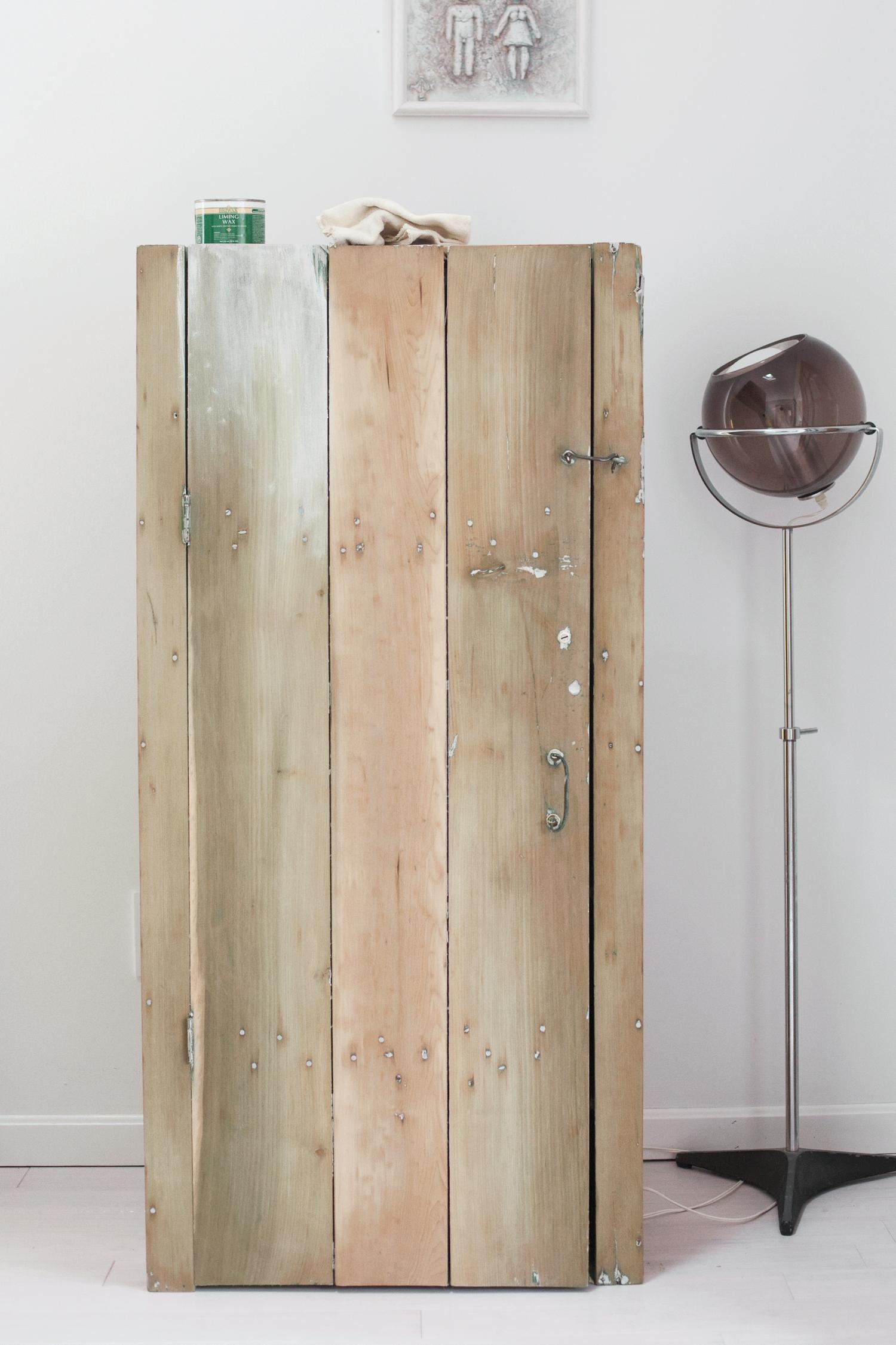 rustic cabinet refinishing